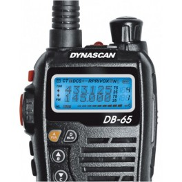 DYNASCAN DB-65 WALKI DOBLE BANDA CON RADIO FM