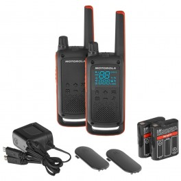 T82 TWIN PACK - 2 WALKIES MOTOROLA T-82 PMR446